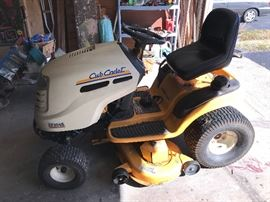 Cub Cadet riding mower!!