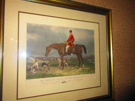 Equestrian Litho