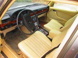 Detail of 1980 Mercedes Benz 300 SD Turbo Diesel