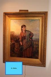 G. Wells Art