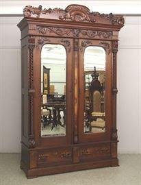 Victorian Matching wardrobe