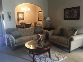 Living room set.