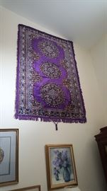 Gorgeous Oriental rug, one of two
