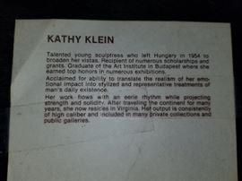 Kathy Klein artist information