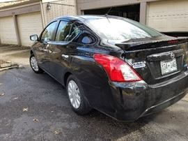 Nissan Versa SV 1,700 miles with extended warranty