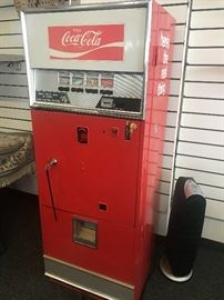 Coca-Cola Glass Bottle Soda/Pop Dispenser