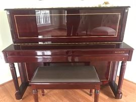 Upright Samick piano