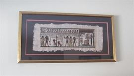 Egyptian Framed Papyrus