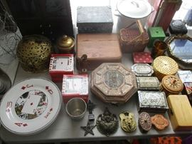 TRINKET BOXES AND MISC.