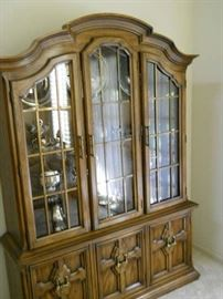 glass front curio