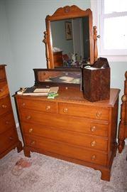 Lillian Russell matching dresser