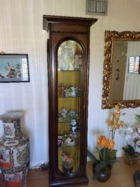Beautiful curio display cabinet