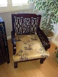 Rosewood chairs replicas of those in the Imperial Palace