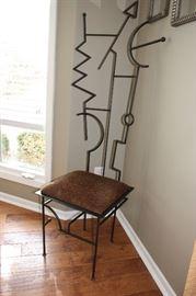 Very cool Art Fair chair
