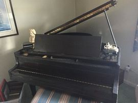 Living Room- Baby Grand Piano