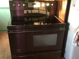 Kitchen- Frigidaire Range and Double Oven