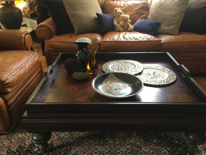Ralph Lauren Tray Style Coffee Table