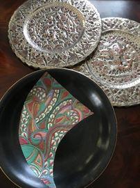 Fenton Design Plate