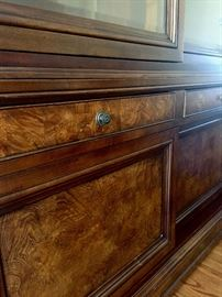 Detail of Entertainment Cabinet.