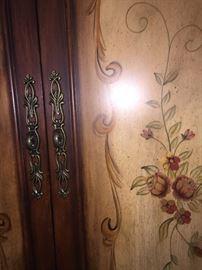 Renaissance armoire detail