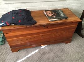 Great old cedar chest