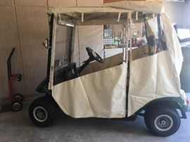 2005 EZ-GO GOLF CART WITH NEW TIRES AND TROJAN BATTERIES
