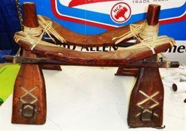 Authentic Camel Saddle