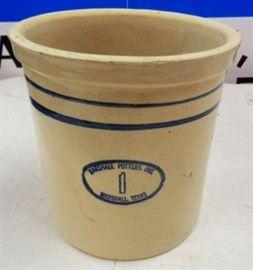 Marshall Pottery 1 Gallon Crock