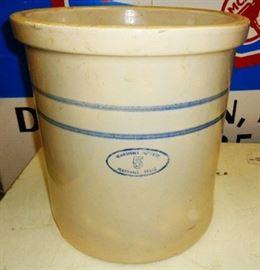 Marshall Pottery 5 Gallon Crock