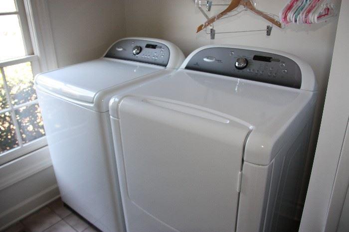 Whirlpool Cabrio Platinum Washer & Dryer