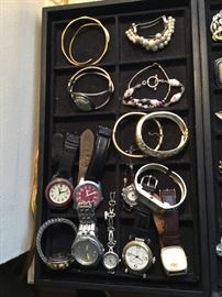 WATCHES, BRACELETS