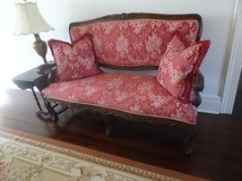 Beautiful Antique Louis XV Settee