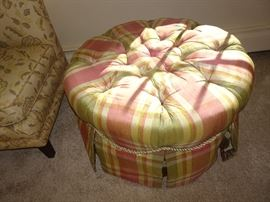 Custom Covered Ottoman