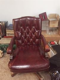 Here is the other leather chair