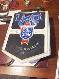 Another beer sign - Old Style