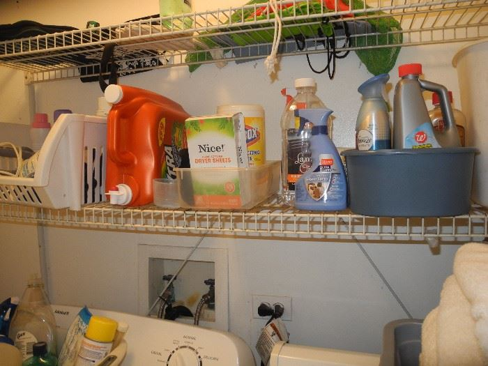 The usual cleaning, chemicals etc.
