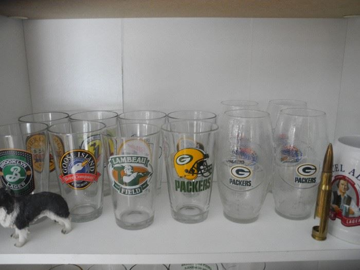Yes, more beer glasses