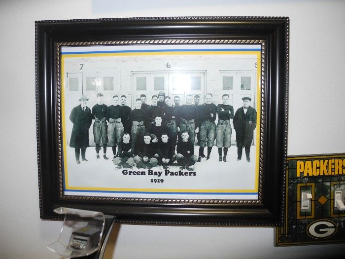 Old time Green Bay Packers photo