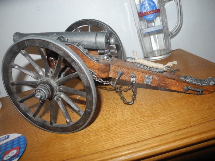Vintage toy cannon