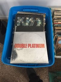 Bins and boxes of LP's.....great stuff!