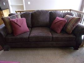 Cochrane Furniture Microsuede Sofa