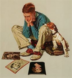 Norman Rockwell and Other Signed Prints full