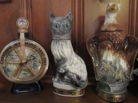 Unusual collectible decanters