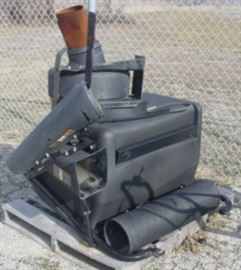 Lawn Mower Vacuum System