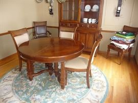Stanley Dining Room Table and Chairs