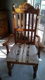 American Drew dining room arm chair