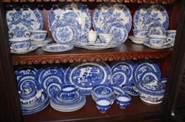 Blue and White China Sets