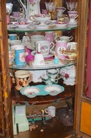 Loads of Decorative Serving Pieces