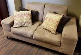 Loveseat pillows