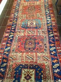 Brilliant antique Persian 3 feet 4 inches x 9 feet 3 inches runner from Iran